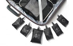organizer cubi bagaglio montagna